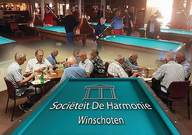 Opening klaverjasseizoen - Sociëteit De Harmonie Winschoten