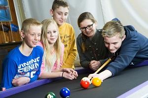 Het nieuwe carambole spel 5-Ball Sociëteit De Harmonie Winschoten